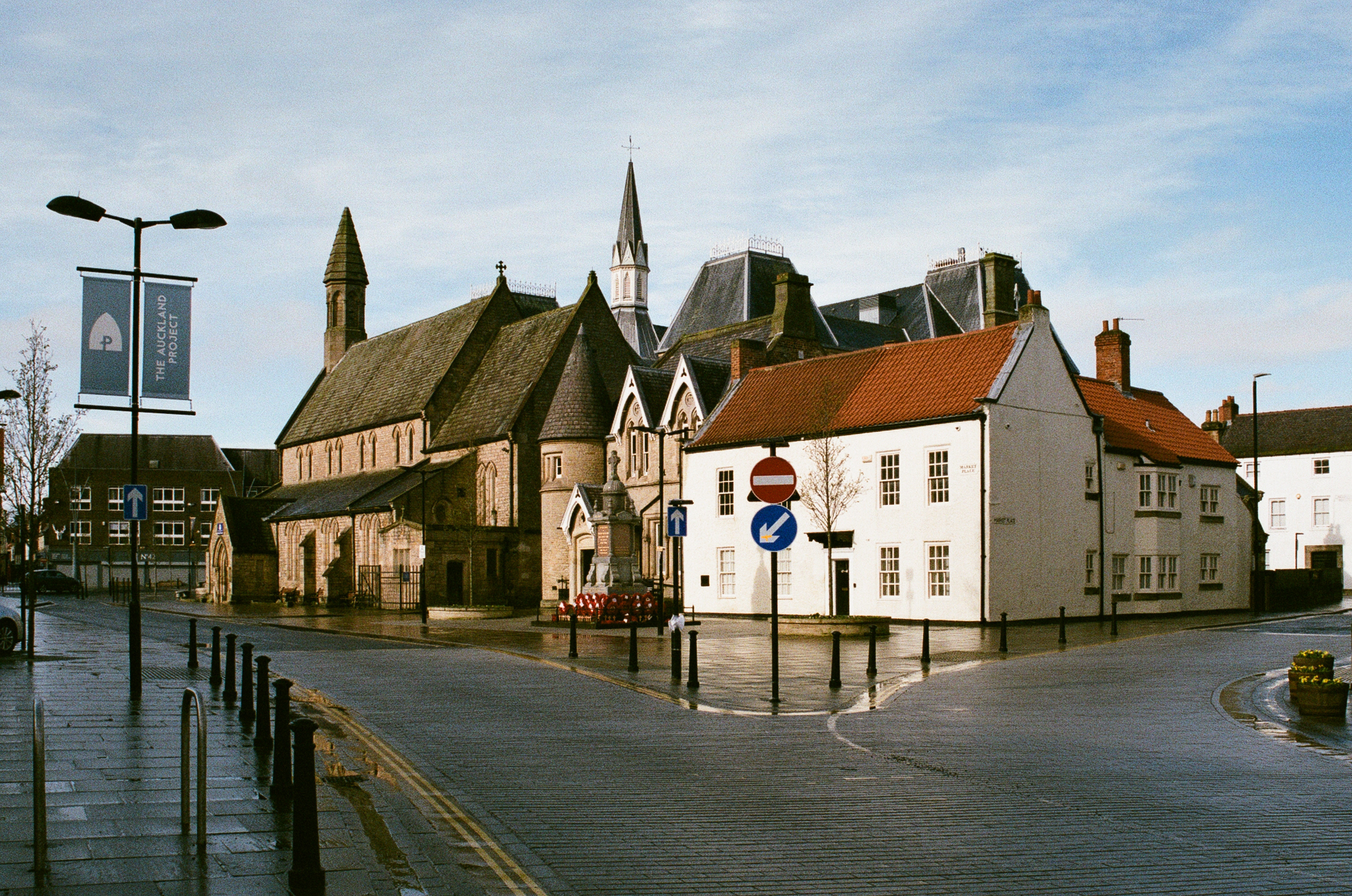 Bishop Auckland on film, February 2020